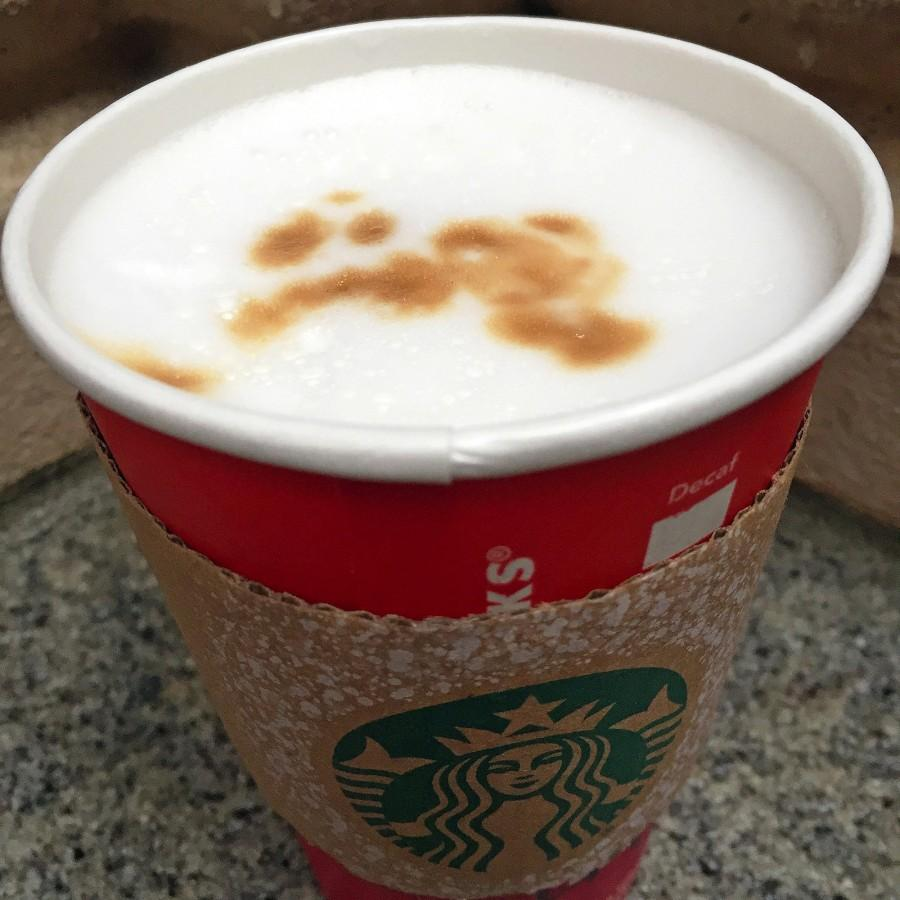 Starbucks' latte macchiato stands as nothing more than hot milk with the occasional spurt of bitter coffee.