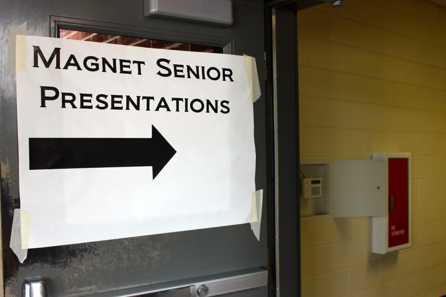 Magnet+seniors+presented+their+ASR+projects+on+Saturday%2C+January+9.