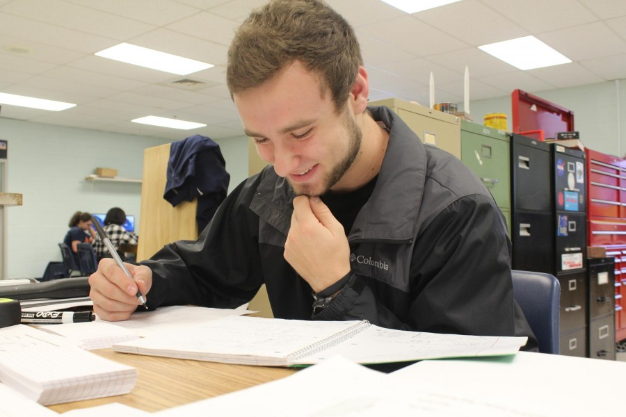 """When I go home.. I don't want to do homework"" said senior Greg Merwitz. Merwitz says since he has mentorship, he can do his homework during that time, relieving him from senioritis."