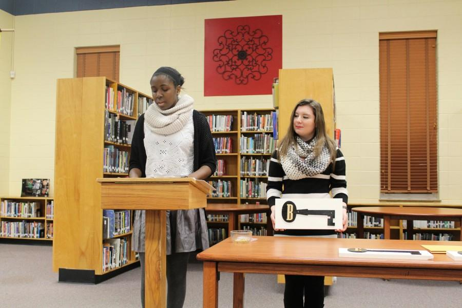 The Chant   Beta Club inducts new members