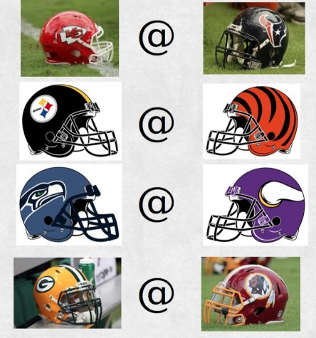 Eight NFL teams kick off the 2016 playoffs in this week's Wild Card round.