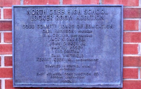 Not much has changed since NC was founded in 1958, except the the addition of the freshman academy and deal building. The plaque above states that this locker room was donated to NC in 1974, and the locker room has not changed since. NC takes immense pride in their old, but progressive school.