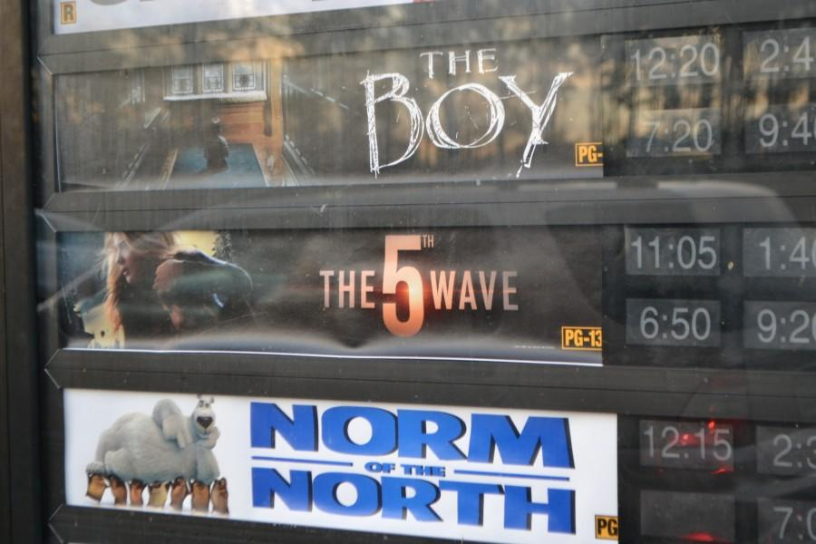 """New film The 5th Wave, starring Chloe Moretz, Matthew Zuk, and Gabriella Lopez, opens to less than mediocre reviews: """"I saw it only because had Chloe Moretz, I usually love everything shes in but it was so boring,"""" NC sophomore Brooke Phillips said. The film itself  was adapted from Rick Yancey's young-adult novel, the glossy if muddled The 5th Wave blends the alien-overlord airships of Independence Day with the natural-disaster effects of The Day After Tomorrow."""