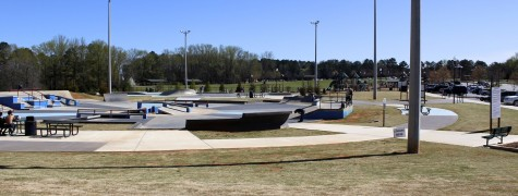 Swift Cantrell has added a skatepark in recent years. The skatepark is part of an extended list to improve one of Kennesaw's most prized possesions that includes plans to build an amphitheater, volleyball courts, and a picnic area.