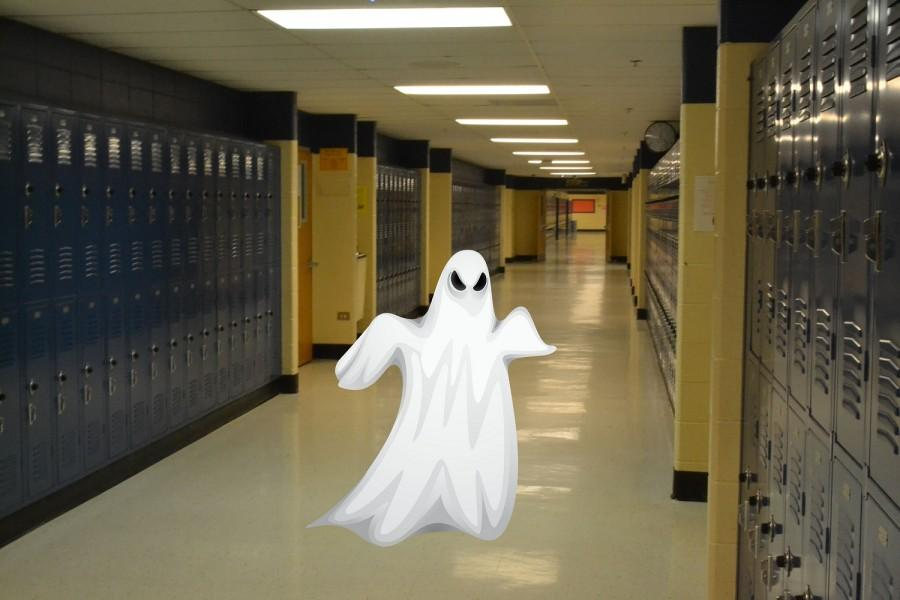 In this exclusive photo, the ghost of NC reveals itself to the public.