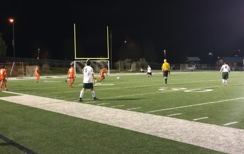 Varsity soccer falls to Mustangs in PK's