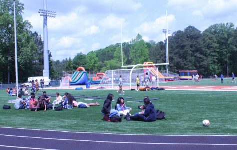 As graduation approaches, the seniors celebrate their last month at NC with festivities. April 27 allowed the seniors to celebrate with the senior carnival, and later in the evening, the senior banquet at North Star Church.