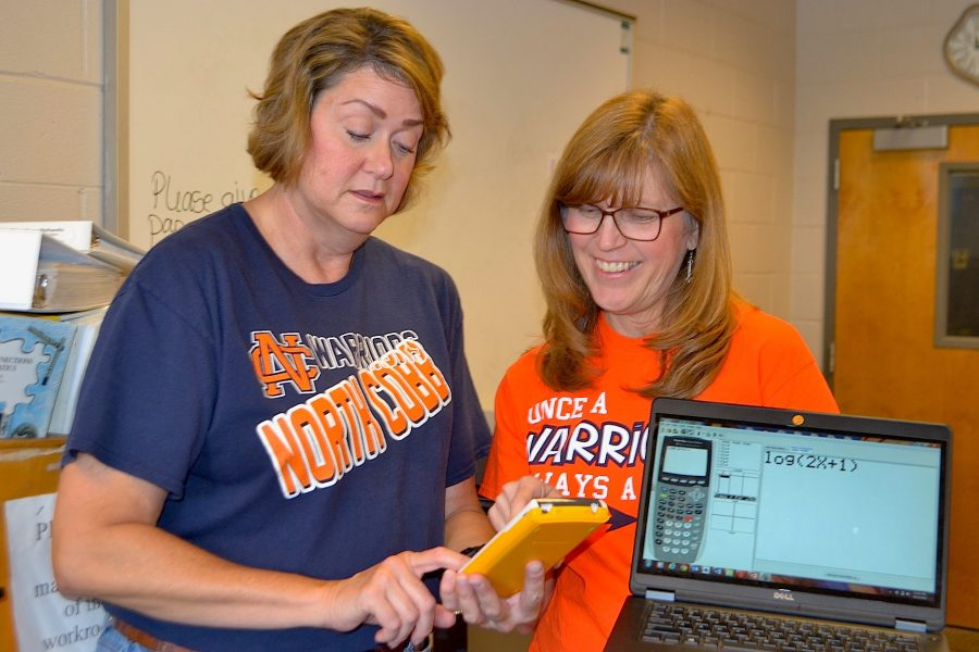 "Cim Keith and Hilary Armstrong, Math Team advisors, look forward to this year's opportunities, possibilities, and improvements for the team. ""We are hoping that more awesome Warriors will come out and join Math Team this year,"" Armstrong said."