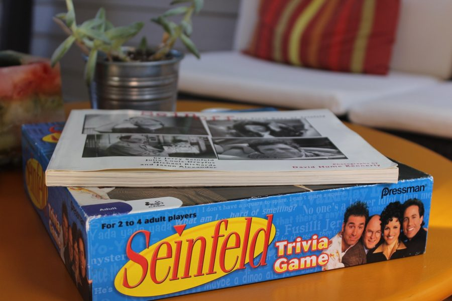 Seinfeld%E2%80%98s+humour+finds+itself+in+the+daily+lives+of+its+viewers%2C+whether+as+inside+jokes%2C+relatable+situations+or+on+coffee+tables.