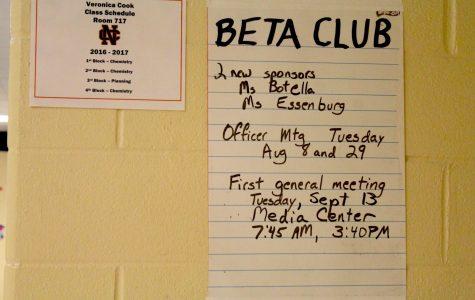 Beta club now recruiting
