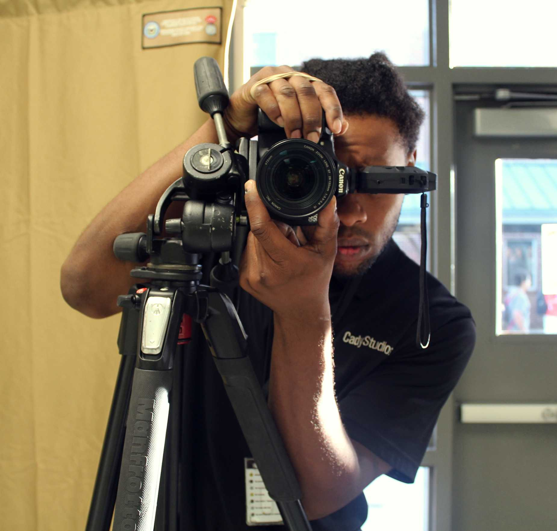 While most students stand in front of the camera for what feels like a fleeting moment, photographers must spend a lot of time taking the perfect photo. While their vague hand signals convey how students should angle their heads and bodies, they actually visualize the photo to ensure that it comes out exquisitely.