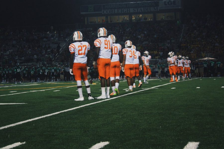 Varsity football takes their first L of the season