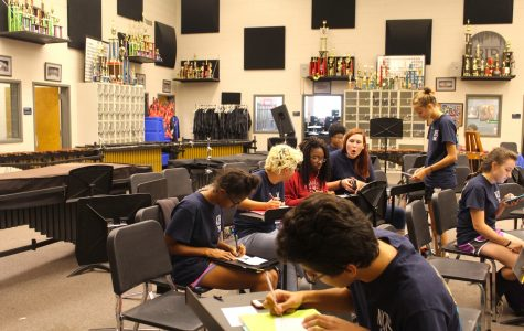 NC band reaches out to eighth graders