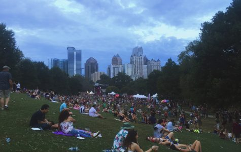 One of the many spectacular views of the city during Music Midtown.