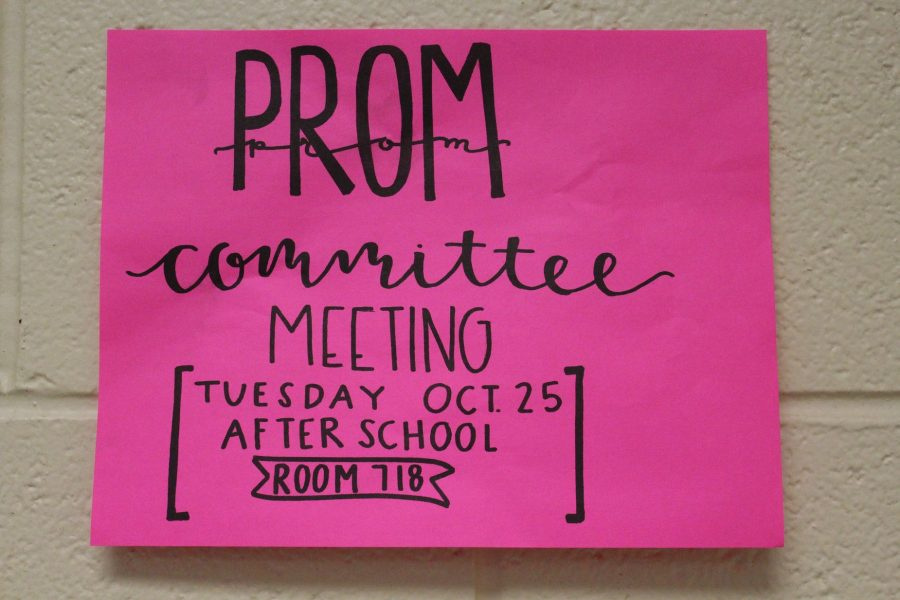 NC's prom committee will hold its first meeting of the year on Tuesday, October 25. Open to all juniors and seniors, members will discuss themes, set a date, create decorations, and prepare for the upcoming dance. If interested, report to room 718 immediately after school.