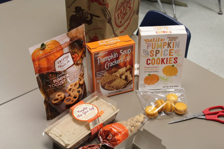 Shambaugh gathers all of the fall-themed goodies to try.