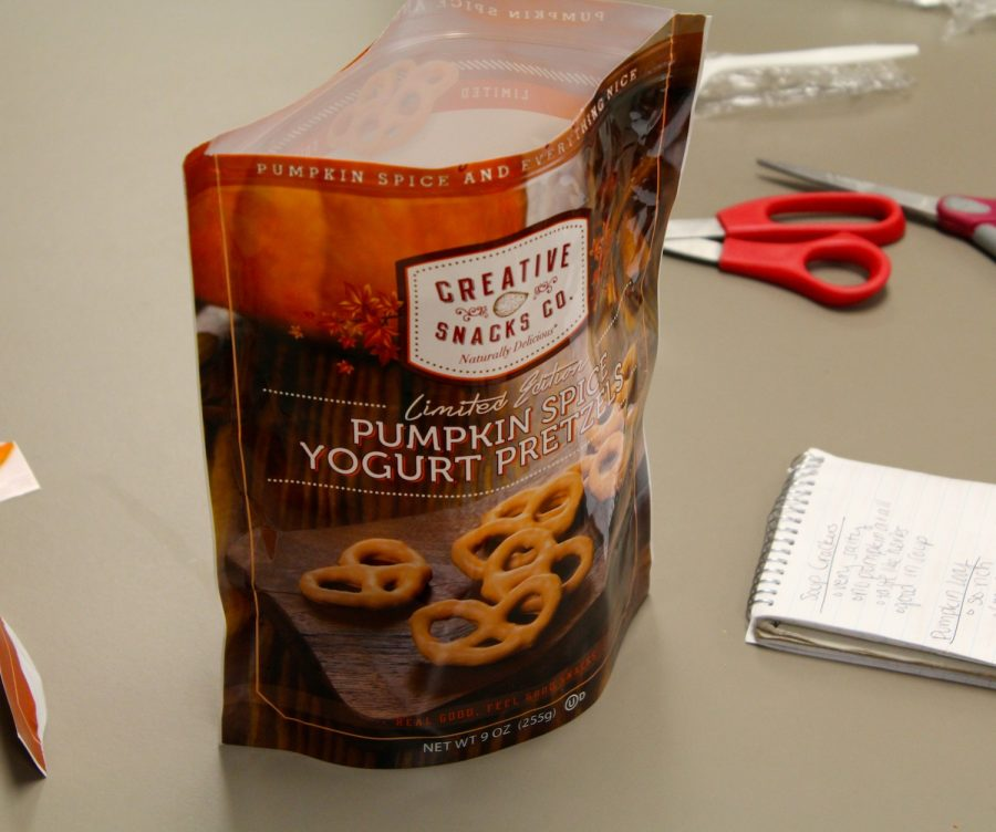 As the best of the group, the Pumpkin Spice pretzels impressed.