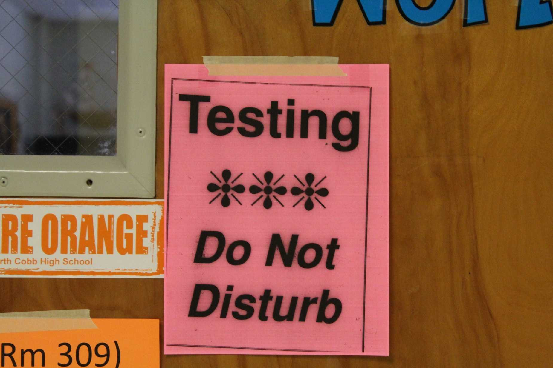 NC turns into a testing haven as underclassmen take the PSAT from 8 a.m. to 12:30 p.m. Students came to school in pajamas ready to face the long test — or for those not taking the test, a long homeroom — that took up most of first and second period.