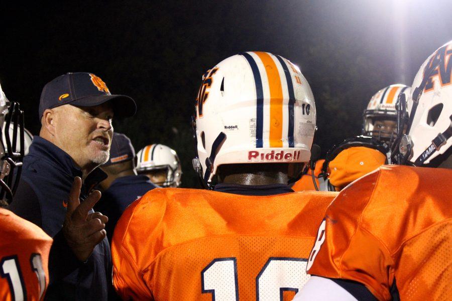 Head Coach Shane Queen led NC to a 42-10 victory.