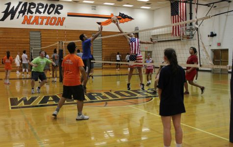 Homecoming week kicks off with men's volleyball tournament