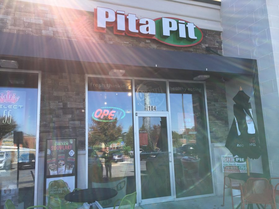 Pita Pit gives a healthier look at fast food, attracting a crowd tired of the common McDonald's and Wendy's.