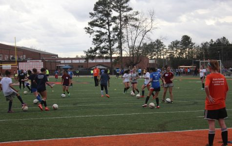 Soccer tryouts kick off the new season