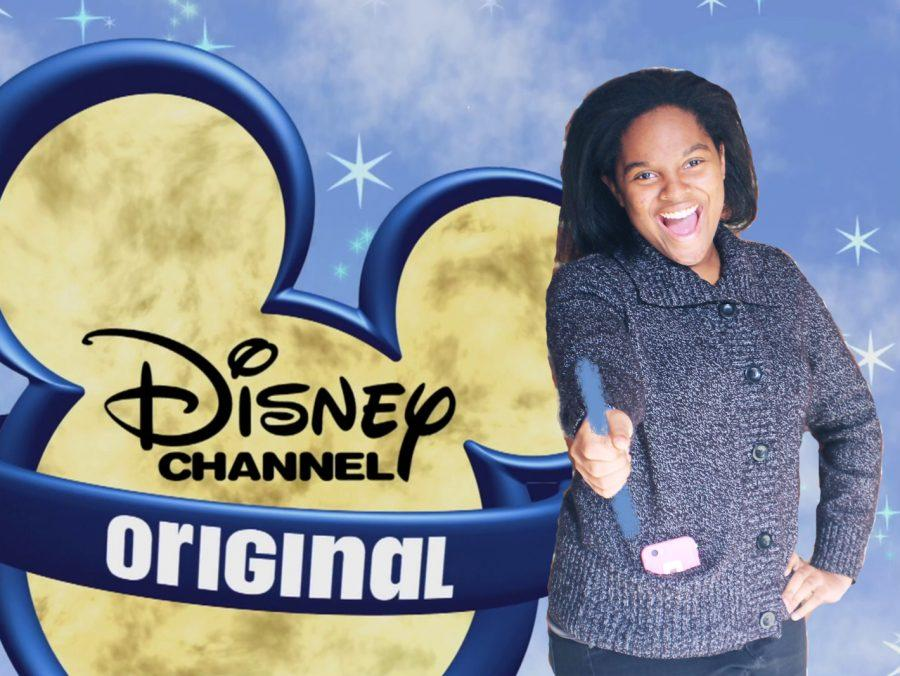 Senior Courtney Wadley recreates the famous Disney Channel opening.