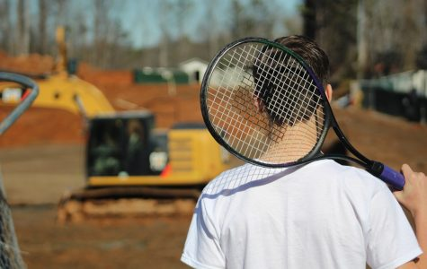 Continued construction debacle: Tennis team finds new home