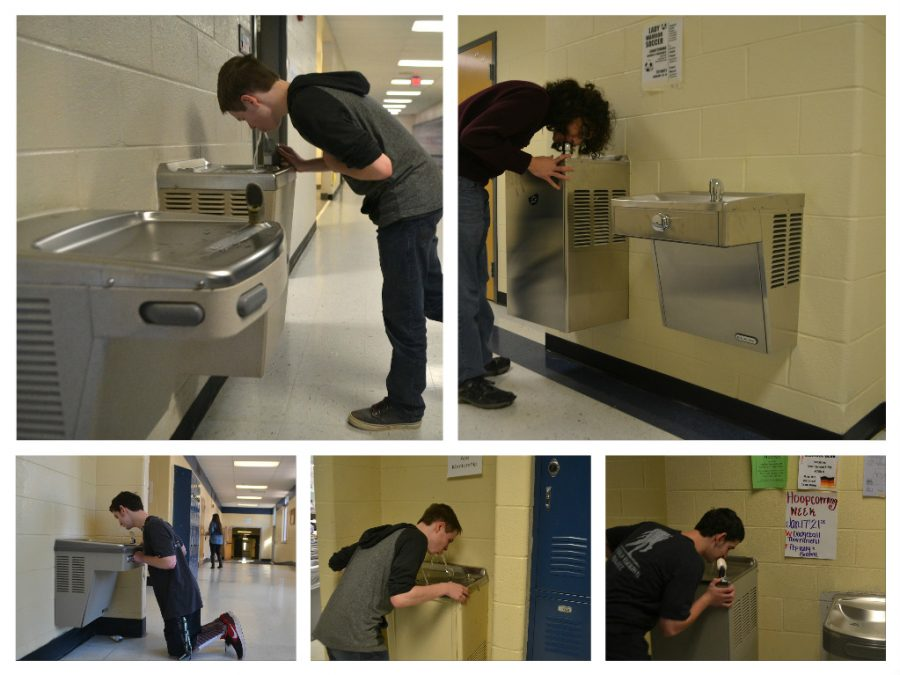 Reporter Jacob Tutterow traveled around the school to truly discover NC's best water fountain.