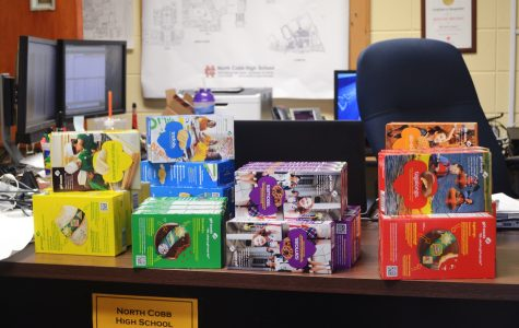 Starting today, students can purchase Girl Scout cookies from the technology lab near the media center (across from Malfunction Junction). At four dollars a box, Savannah Smiles, Trefoils, Thin Mints, Samoas, Do-Si-Dos, and Tagalongs stand available for purchase. Beginning tomorrow, cardholders can  purchase their favorite cookies for an extra processing fee of eleven cents.