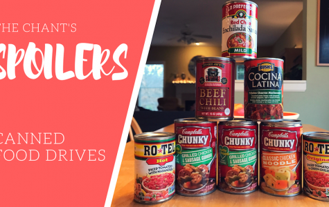 Spoilers: Canned food drives