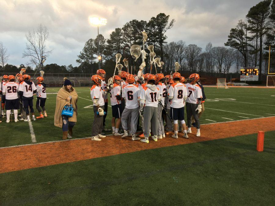The+NC+Varsity+boys+Lacrosse+team+played+against+the+Hillgrove+Hawks+on+Tuesday+night%2C+March+14%2C+losing+14-4.