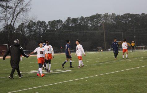JV soccer destroys Blue Devils 4-0