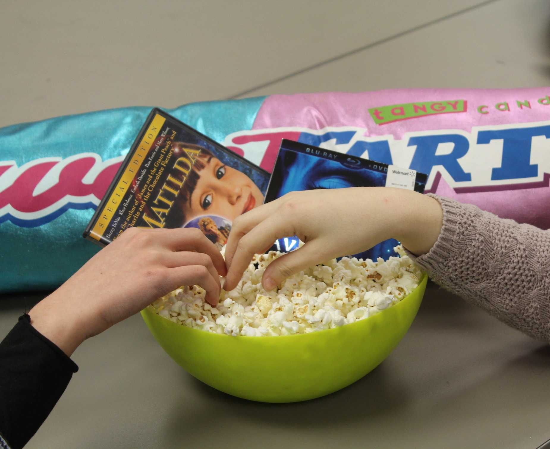 Need a good way to spend time after prom? Watching movies, make popcorn, and accidentally bump hands with your crush when reaching into the popcorn bowl. Make sure to provide plenty of butter, salt, and popcorn seasoning, or even add skittles or M&M's for sweetness.
