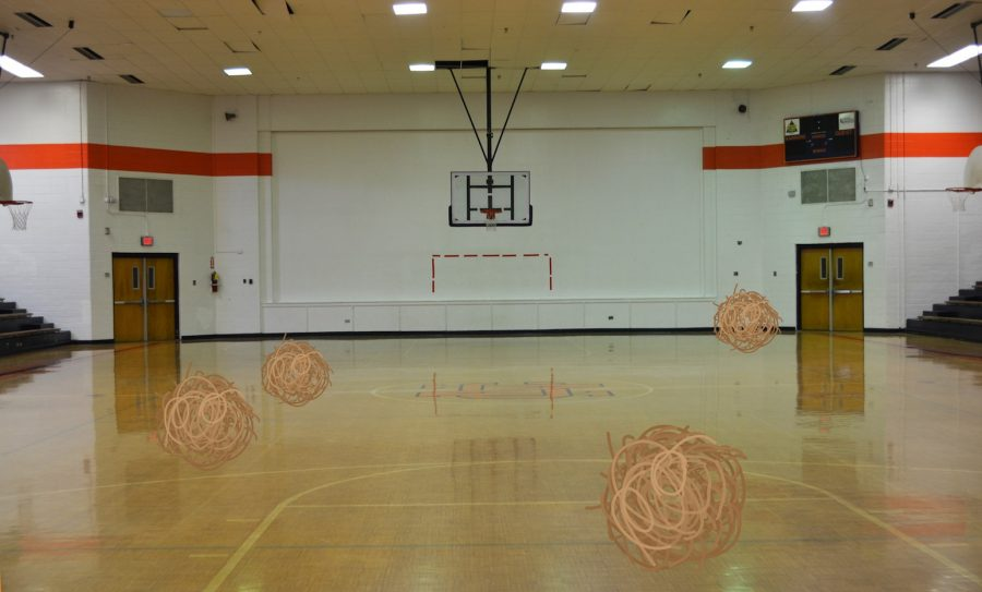 With the construction of the new new gym, people slowly start to forget about the original old gym.