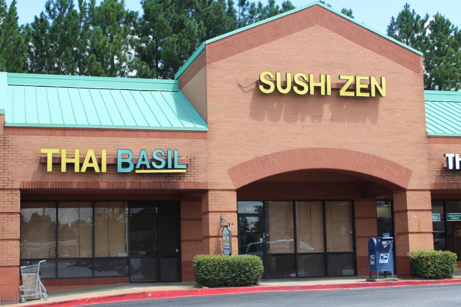 Thai Basil and Sushi Zen, located in the Kennesaw/Acworth area, proves itself as one of the most popular places for sushi lovers.