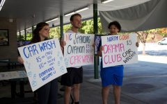 Drama Club hosts carwash fundraiser