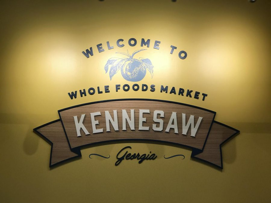 The new Whole Foods Market location opened up at 1300 Ernest W Barrett Pkwy NW, Kennesaw, GA 30144.