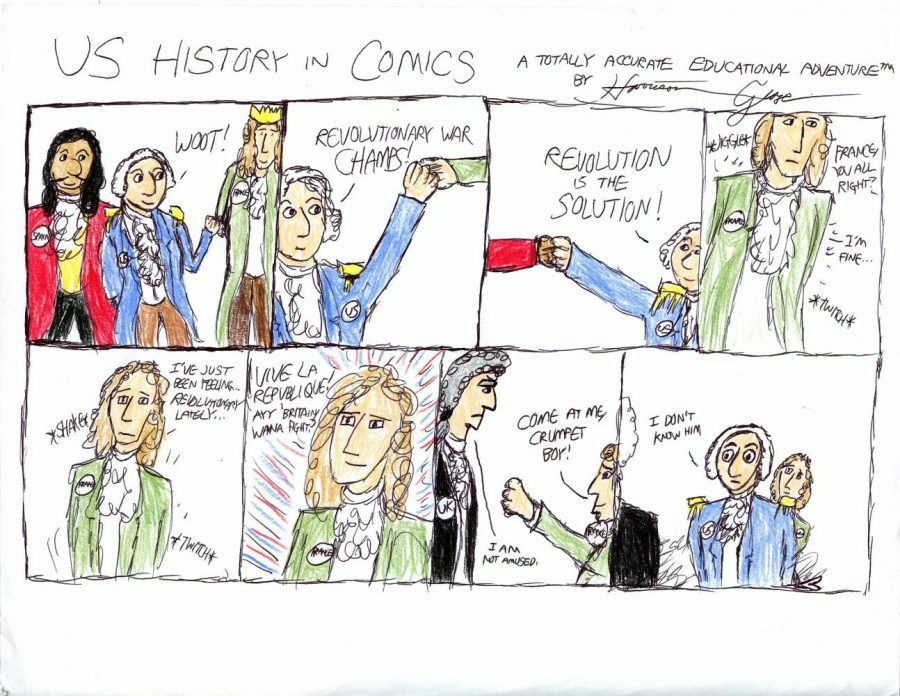 US History in Comics