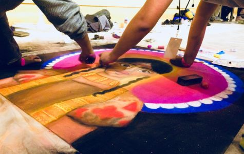 Chalk art contest showcases high school artistry