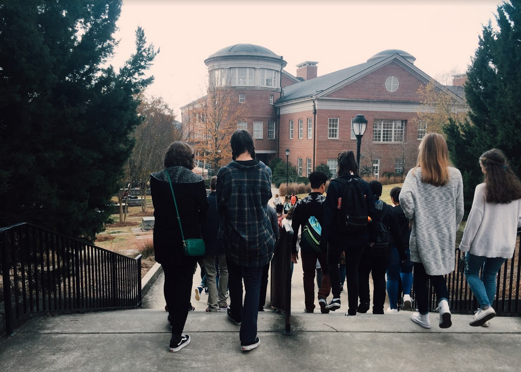 On November 30, thirty-seven NC students visited the University of Georgia and the University of North Georgia to explore potential college options.