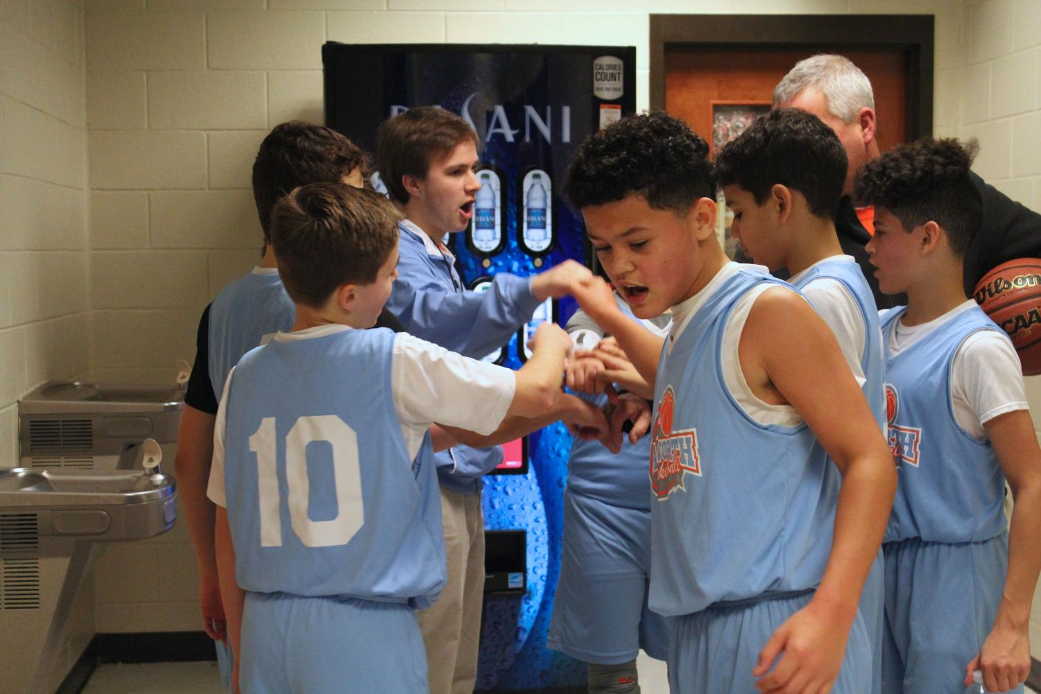 """After their impressive win against the Tigers on January 13, senior Turner Markwalter ended the day with a powerful pep talk. He motivated the team and prepared them for the next practice. """"I can't wait to see how my team progresses and develops throughout this season,"""" Markwalter said."""