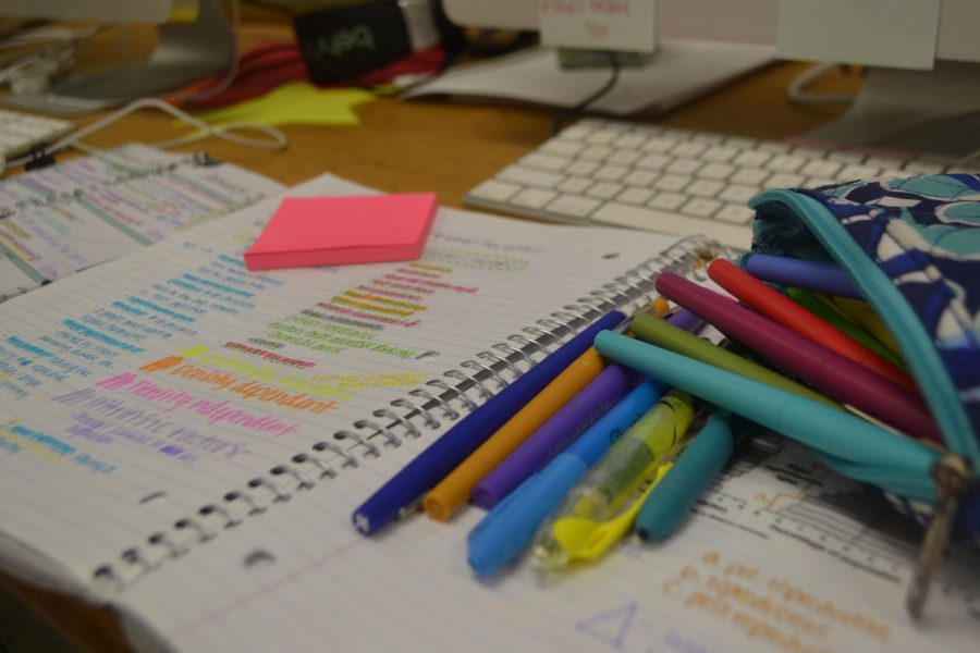 In order for students to become more organized, students should separate each classes assignments and handouts to avoid confusion. Students can achieve organization simply by not stuffing all of their papers into one folder.