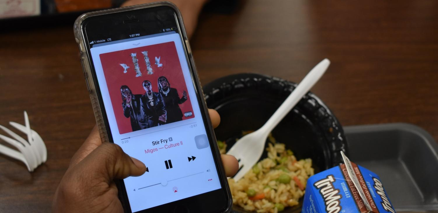 """On January 26, Migos released Culture II, the much anticipated follow-up to Culture.  NC students excitedly discussed the album at the lunch table, celebrating its highs and reeling over its lows. Senior Maya Hercey said, """"I love 'Narcos' and 'Notice Me,' but most of the songs sound the same."""""""