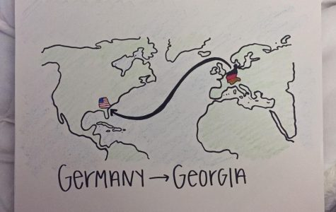 From Germany to Georgia: 4,898 miles away from home