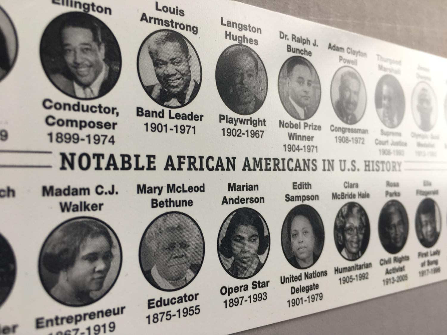 Every February, students remember notable African Americans for their suppressed accomplishments and efforts in the fight for racial equality. Although learning about these people nourishes the minds of young students, historians and educators alike deprive a multitude of African American figures of the credit they deserve.