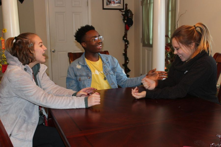 Sophomore Priscilla Petersen and juniors Chike Asuzu and Kelsey Dotson sat down to share their experiences of Shop with a Warrior and their fond memories with Mary and Cheryl Kilpatrick.