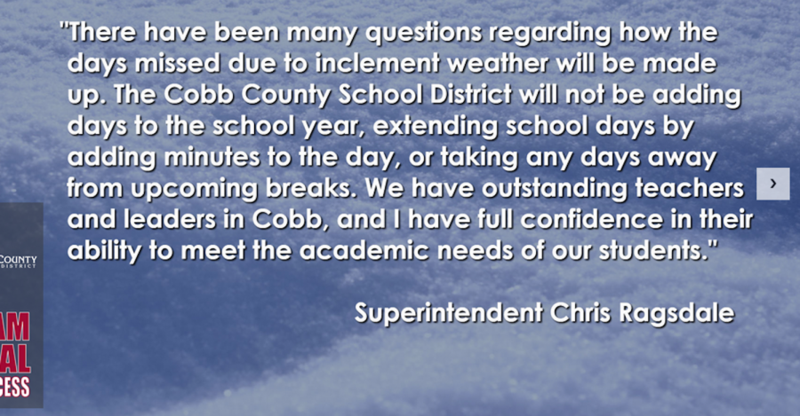 CCSD releases plans for snow day cancellations