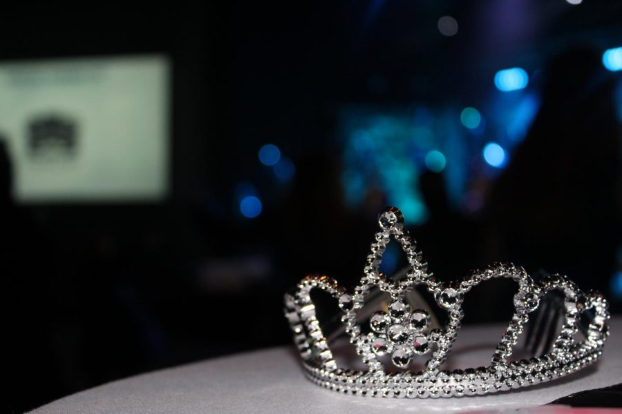 Night to Shine, a night out of a fairytale storybook, from tiaras and crowns on each guest's head and to beautiful dresses and spiffy suits with the auditorium decorated with twinkling lights.