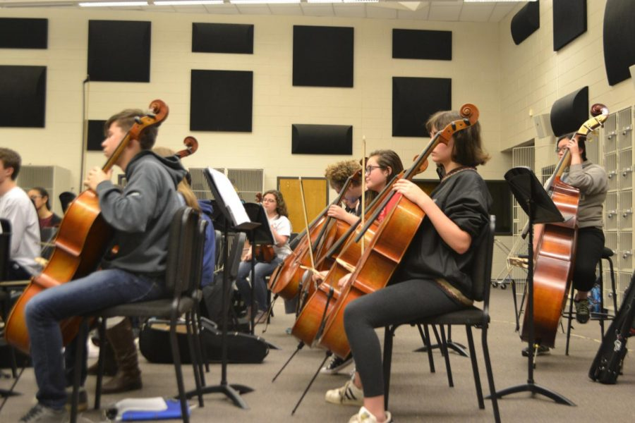 Magnet+sophomore+Tali+Porter%2C+among+others%2C+practices+diligently+on+her+cello.+All+students+in+orchestra+are+eager+to+learn+and+practice+in+preparation+for+LGPE.++%E2%80%9C%5BStudents%5D+can%E2%80%99t+play+it+any+better+than+they+are+right+now+so+they+just+have+to+go+and+have+fun%2C+leave+it+on+the+stage%2C+and+take+every+risk+that+they+can+to+provide+the+audience+with+the+best+experience.%E2%80%9D+said+Paula+Krupiczewicz%2C+orchestra+teacher+at+NC.